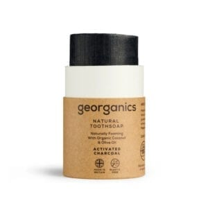 Georganics Natural Activated Charcoal Toothsoap Open