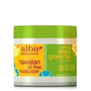 Alba Botanica Refining Aloe & Green Tea Oil Free Moisturiser