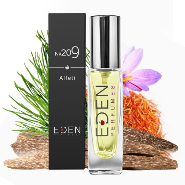 Eden Perfume No.209 Alfeti Oriental Woody