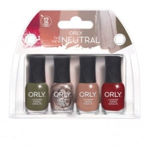 ORLY New Neutral 4 Piece Mini Kit