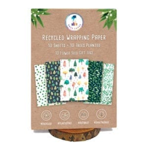 1 Tree Cards Everyday Wrapping Paper Pack