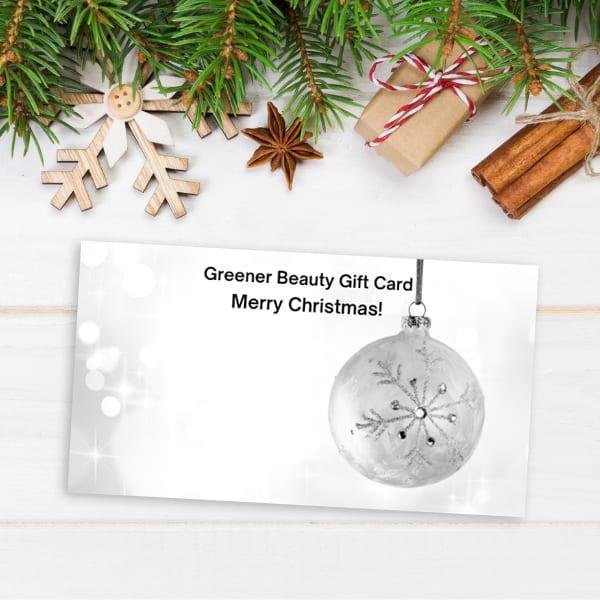 Vegan Christmas Gift Card