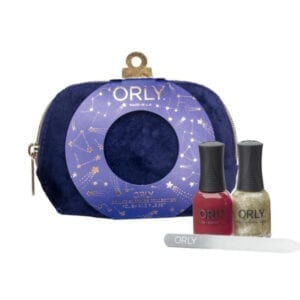 ORLY Deluxe Blue Velvet Evening Gift Bag Set