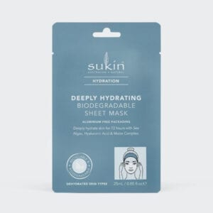 Sukin Deeply Hydrating Biodegradable Sheet Mask