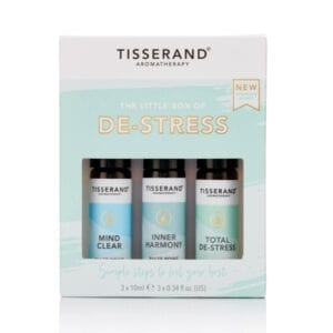 Tisserand Little Box of De-Stress Open