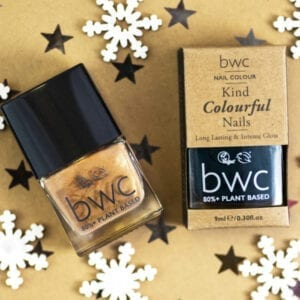 Beauty Without Cruelty Green & Gold Nail Gift Set