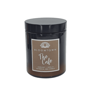 Bloomtown The Cafe Scented Botanical Candle