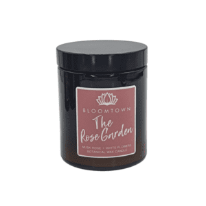 Bloomtown The Rose Garden Scented Botanical Candle