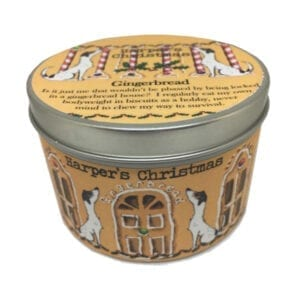 Harpers Candles Gingerbread Small