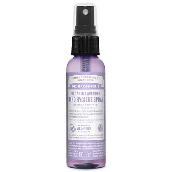 Dr Bronner Organic Lavender Hand Hygiene Spray