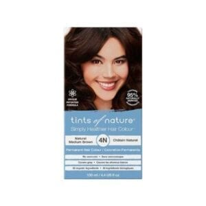 Tints of Nature 4N Natural Medium Brown Permanent Hair Dye