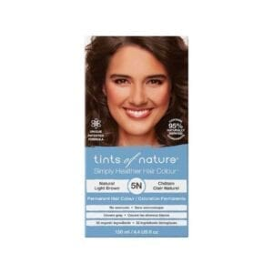 Tints of Nature 5N Natural Light Brown Permanent Hair Dye