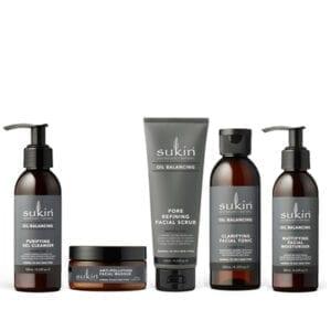 Sukin Oil Balancing Skincare Set