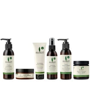 Sukin Signature Facial Set with cream cleanser