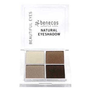 Benecos Coffee & Cream Quattro Eyeshadow