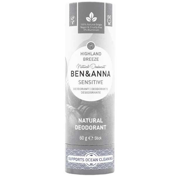 Ben & Anna Sensitive Highland Breeze Deodorant