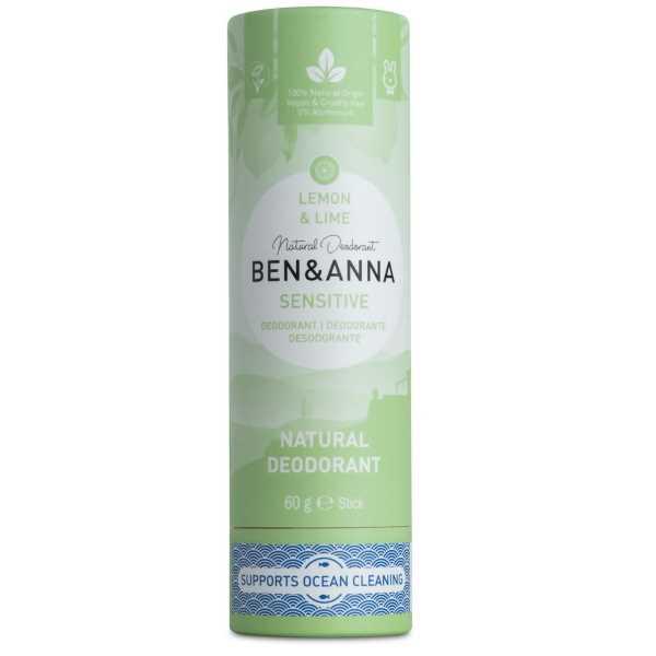 Ben & Anna Sensitive Lemon & Lime Deodorant
