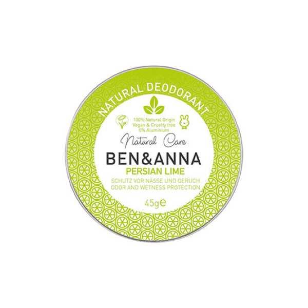 Ben & Anna Persian Lime Natural Deodorant Tin