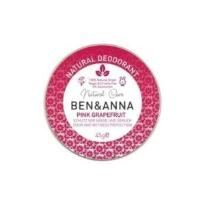 Ben & Anna Pink Grapefruit Natural Deodorant Tin