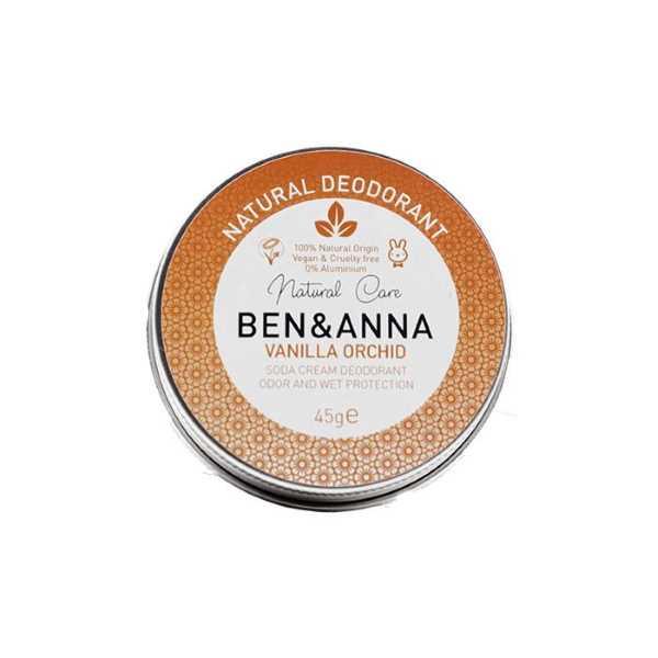 Ben & Anna Vanilla Orchid Natural Deodorant Tin