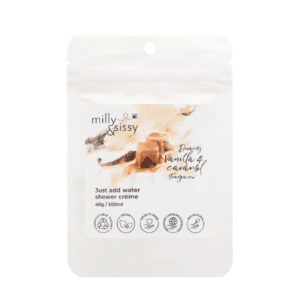 Milly & Sissy Dreamy Vanilla & Caramel Shower Crème