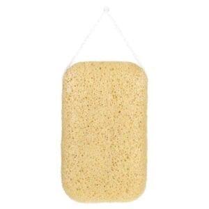 The Konjac Sponge Co Mandala Yellow Clay Body Sponge