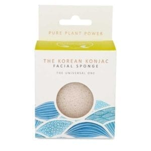 The Konjac Sponge Co The Elements Water Pure Facial Sponge