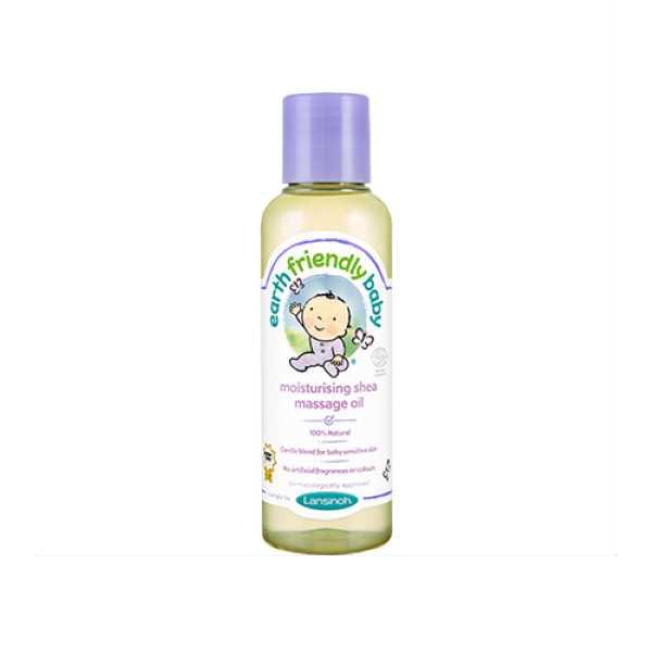 Earth Friendly Baby Moisturising Shea Massage Oil