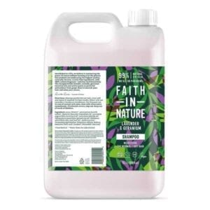 Faith In Nature Lavender and Geranium Shampoo 5L