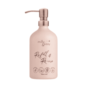 Milly & Sissy Refill & Reuse Blush Bottle