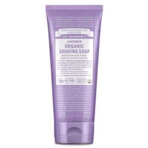 Dr Bronner Organic Lavender Shaving Soap