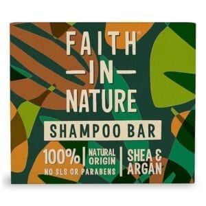 Faith In Nature Shea & Argan Shampoo Bar
