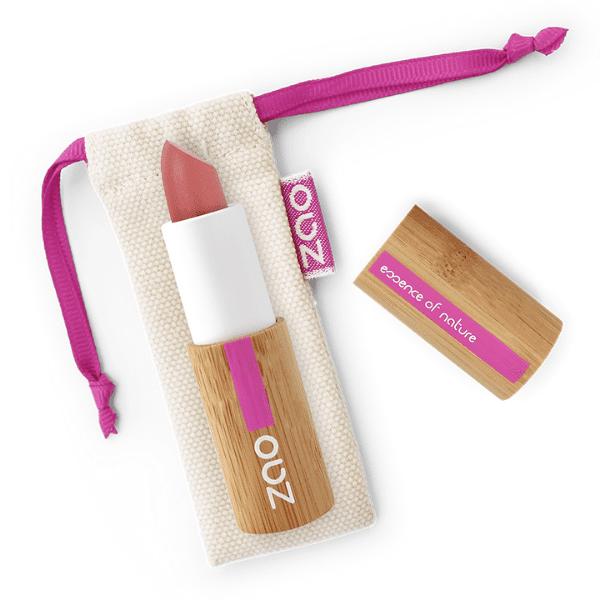 ZAo Classic lipstick Nasturtium Rose