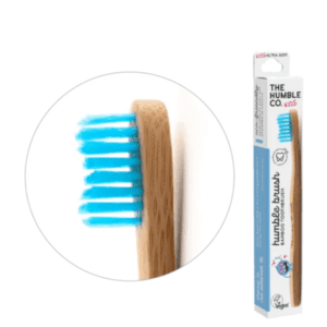 The Humble Co Kids Ultra Soft Bristles Blue Toothbrush