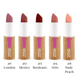 Zao Cocoon Balm Lipstick Colour Swatch