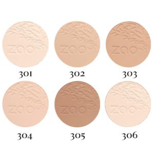 Zao Compact powder Colour Swatch