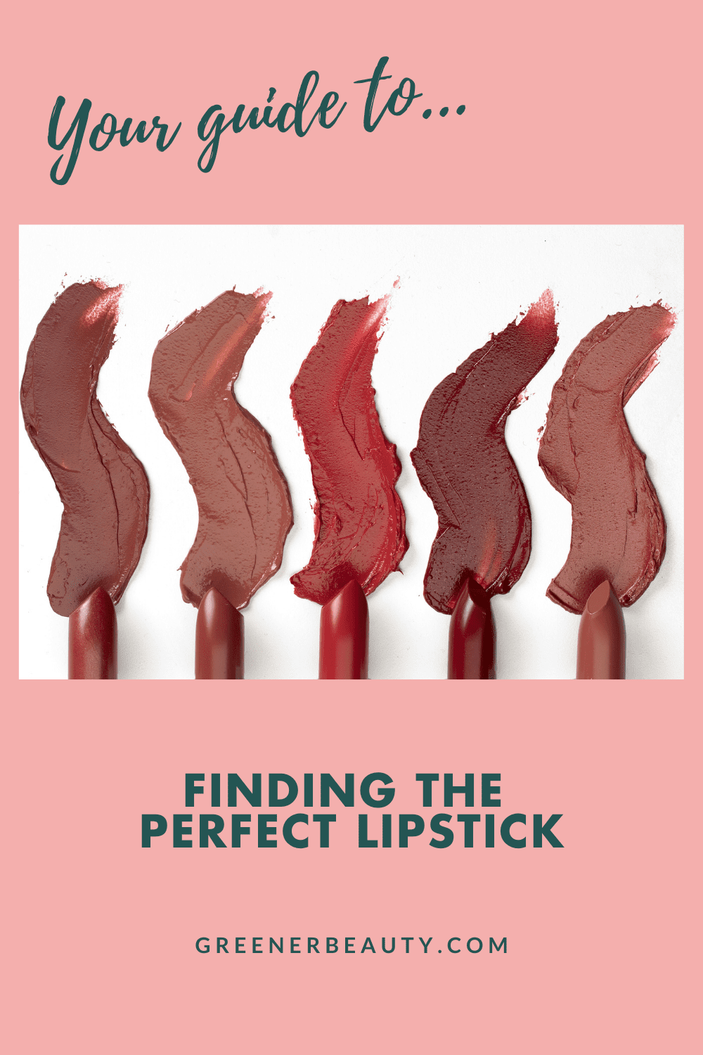 Your guide to Finding the Perfect Lipstick