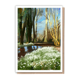 1 Tree Cards Snowdrops