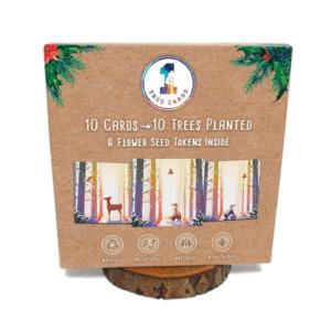 1 Tree Cards Winter's Glow Festive Pack