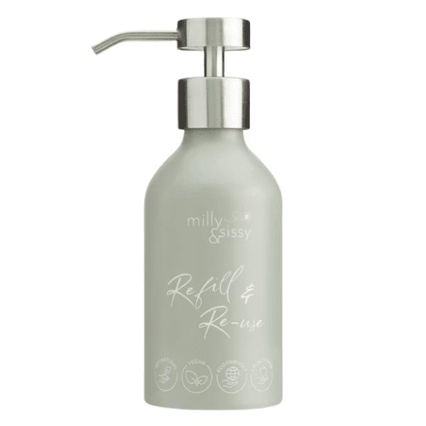 Milly & Sissy Sage Aluminium Bottle
